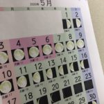月齢カレンダー