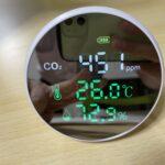二酸化炭素濃度計を導入した